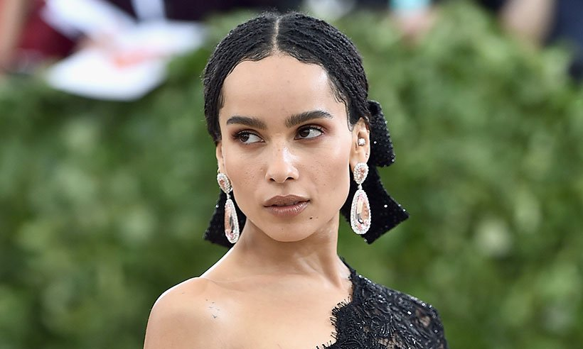 We love this! Zoë Kravitz announced as the new face of YSL's Black Opium perfume:
