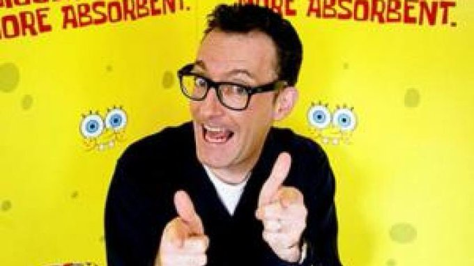 Happy birthday to my favorite voice actor of all time,Tom Kenny!