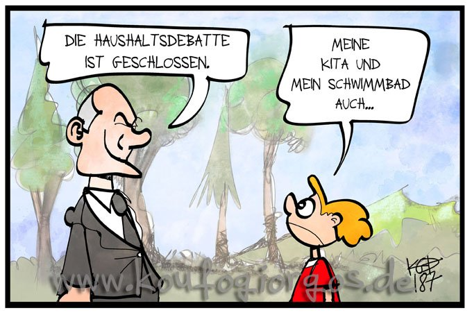 #Haushalt