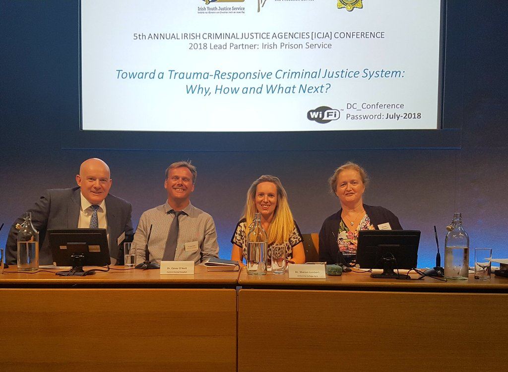 test Twitter Media - Minister for Justice Charlie Flanagan opened the 5th Annual Irish Criminal Justice Agencies Conference in Dublin Castle on July 4th. Sharon Lambert, Applied Psychology presented research on vicarious trauma. Read the full details at https://t.co/tCpEhEPSuX https://t.co/RmWAy0ddEs