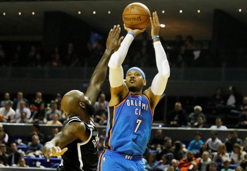 NBA notebook: Anthony, Thunder will reportedly part ways
