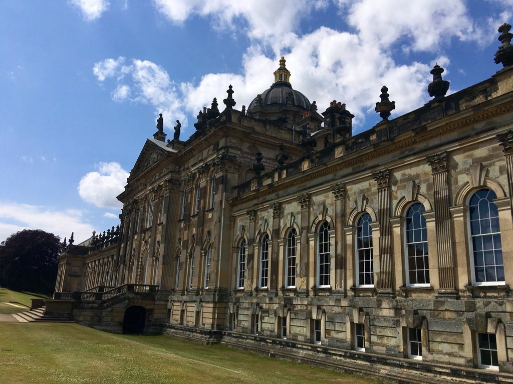 Odyssey England 2018, Castle Howard is a stately home in North Yorkshire,15 miles north of York. It is a private residence, and has been the home of the Carlisle branch of the Howard family for more than 300 years. https://t.co/3MsDeO9BGh
