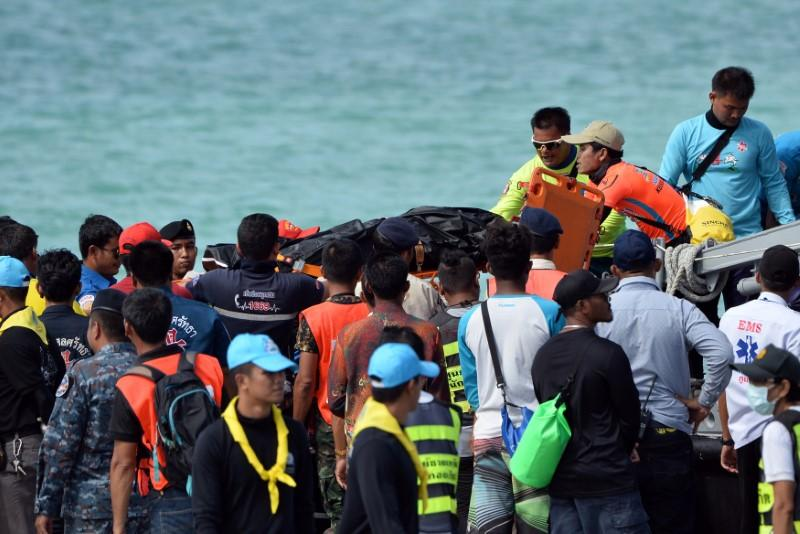 Thai hospital low on morgue space after tourist boat sinking