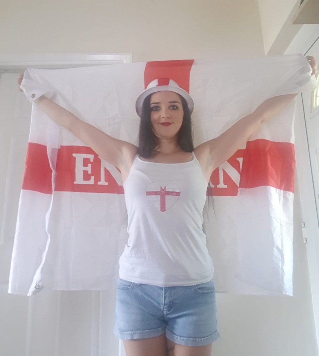 1 pic. All ready for the game ! Come on England! Xxx MeOQ6gsIim