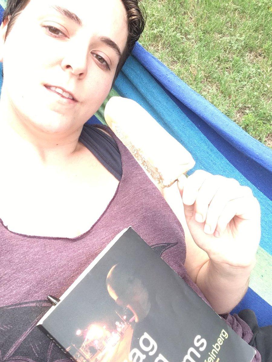Cold brew coffe pop, a book, and a hammock #lazysaturday #livinthedream FNFBRbcN5L