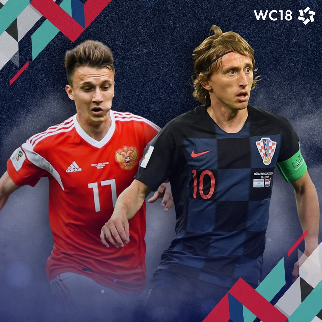 Who will claim the final spot? #WC18 - #FootbALLorNothing #WorldCup2018 #Russia18 #Russia #Croatia #LSSBootRoom https://t.co/igqpyqIW7w