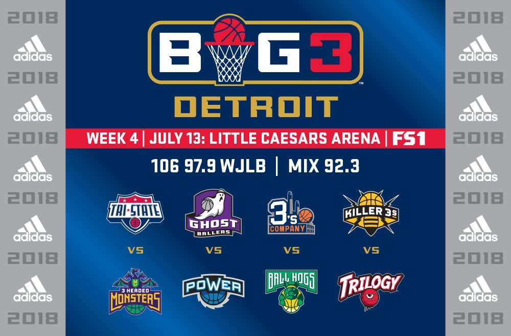 DETROIT BASKETBALL! @thebig3 is coming to the D! https://t.co/vckW6Scrdt https://t.co/mGBSH8NcWv