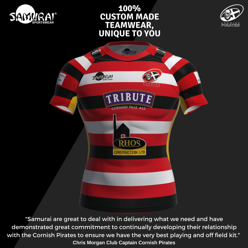 test Twitter Media - Does your team want great kit like @CornishPirates1? We produce custom made teamwear to elite and grass root clubs globally ensuring their kits not only look and feel great, but perform great too! Check out our 3D Kit Designer to begin your Samurai journey>https://t.co/c0bofiY2IE https://t.co/vcMeGO6I8b