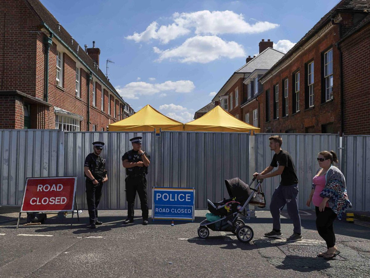 ICYMI - U.K. woman dead after being exposed to nerve agent, Britain blames Russia