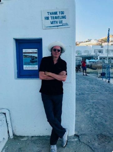 Thanks for traveling! #mykonos #duranduran #JT #greathatman https://t.co/vVs51cXzos