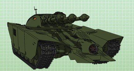test ツイッターメディア - [サルバーS-Ⅵ型重戦車](宇宙戦艦ヤマト2199) ガミラス帝国軍の主力戦車。3連装の陽電子砲がいかにもSF戦車っぽさを醸し出す。帯磁コーティング「ミゴヴェザー・コーティング」のお陰で採掘用レーザーぐらいなら完全に無効化できる。しかも宇宙艦から空挺投下も可能。https://t.co/Ic292uxnCh