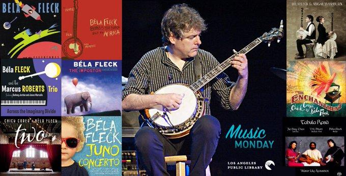 New Blog Post:  Music Monday: Happy Birthday, Béla Fleck!