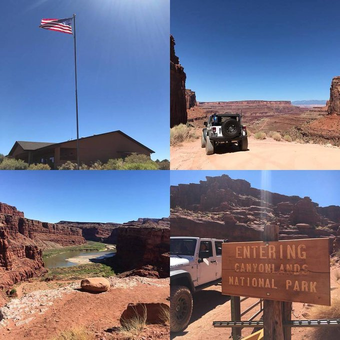 Canyonlands National Park... if you ever get a chance to visit, drive in or out along Shafer Trail. This 2-3 hour adventure goes all the way to Moab and is a great way to see deep into the canyon where the Colorado river is. For more information visit th… https://t.co/UuAdnQLGBS https://t.co/BixNy9yX7K