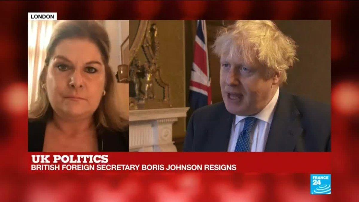 ?? British Foreign Secretary Boris Johnson resigns