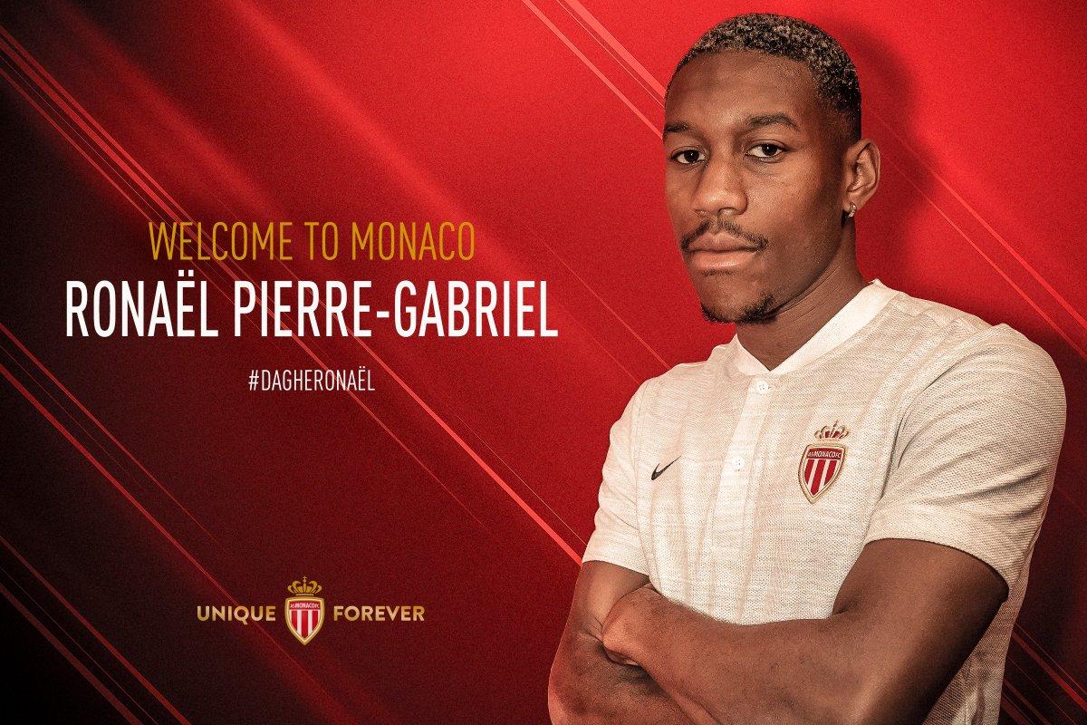 Maillot Domicile AS Monaco Ronaël PIERRE-GABRIEL