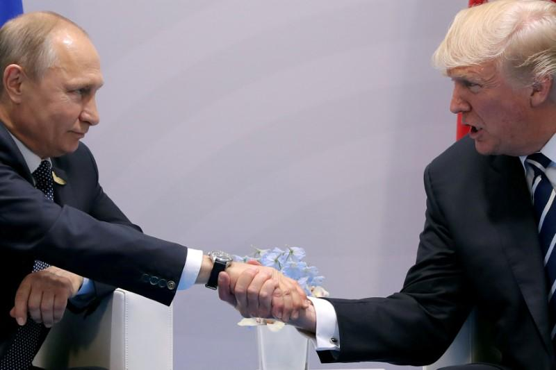 When Donald meets Vladimir: the neophyte and the black belt