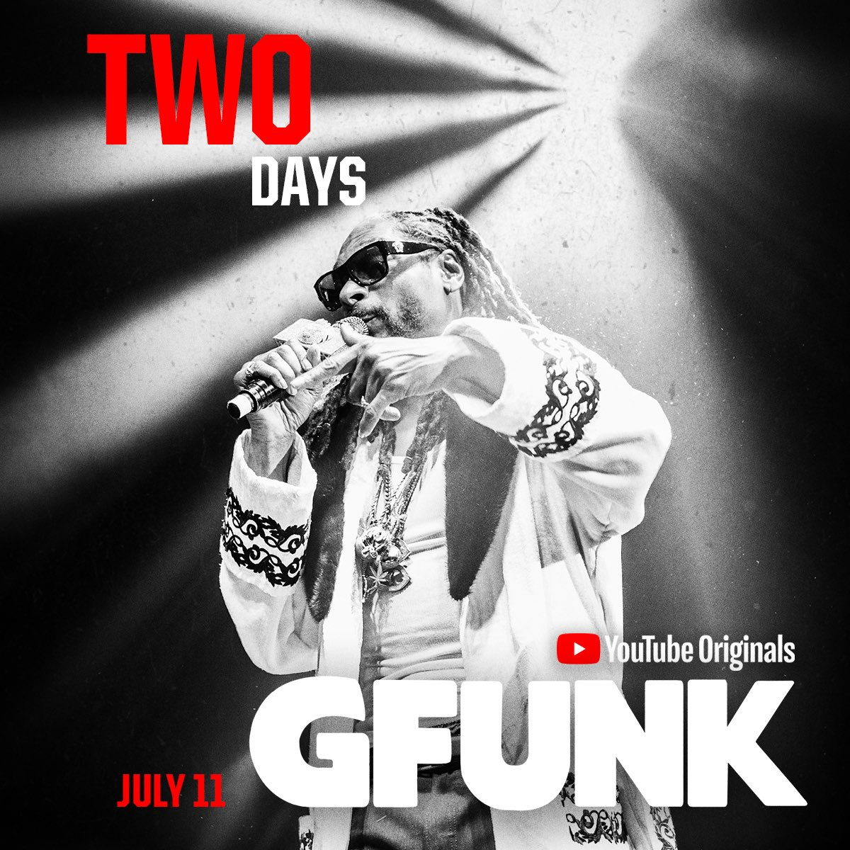 2 more days ✨ me n @regulator bringin it back to the 90s ???????? #GFunkDoc on @YouTube July 11 https://t.co/chUJB5Ffyf