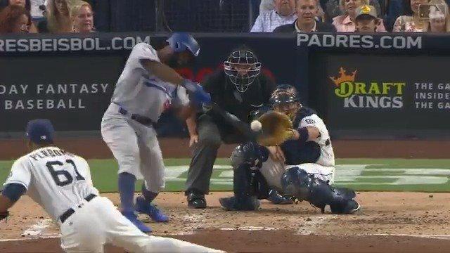 In his wheelhouse. #Dodgers https://t.co/JkGFR8cN1y