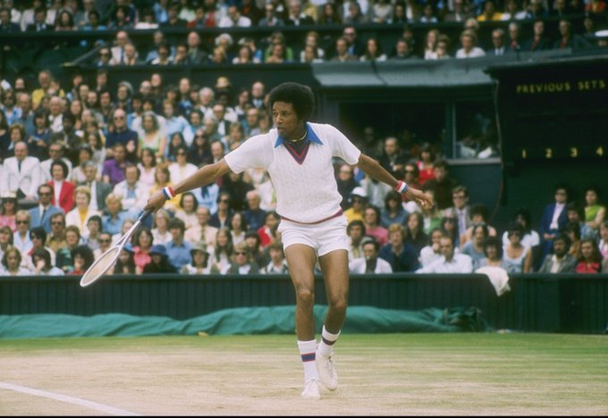 Happy Birthday to Arthur Ashe, who would have turned 75 today!