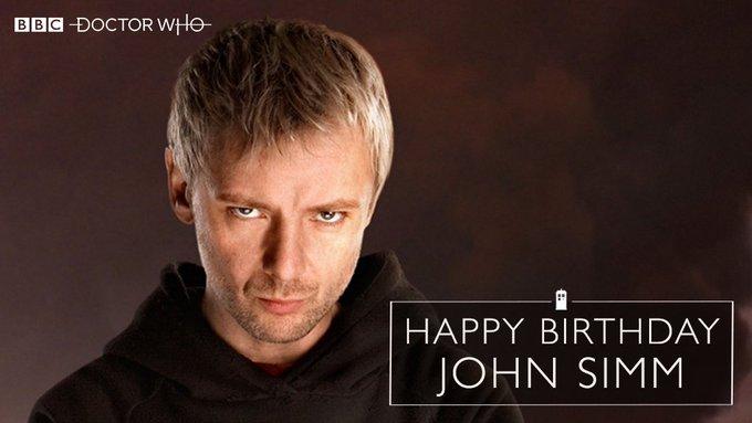 Bbcdoctorwho : Happy birthday, John Simm! (via message