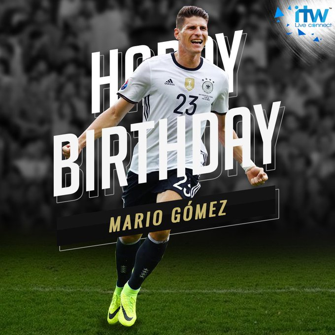 Wishing and striker a very Happy Birthday as he turns 33 today.