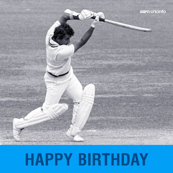 Happy birthday to Sunil Gavaskar, the first to 10,000 runs in Test cricket!