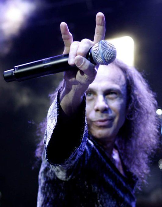 Ronnie James Dio (Ronald James Padavona ) Birth 1942.7.10 2010.5.16 Happy Birthday