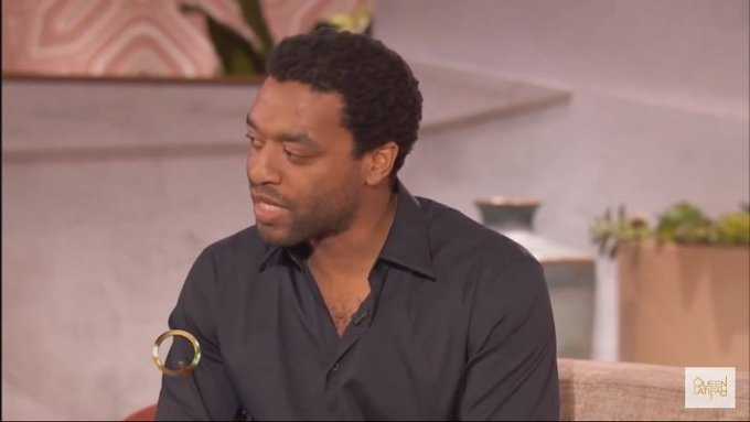 Happy birthday Chiwetel Ejiofor! See you in the sequel!