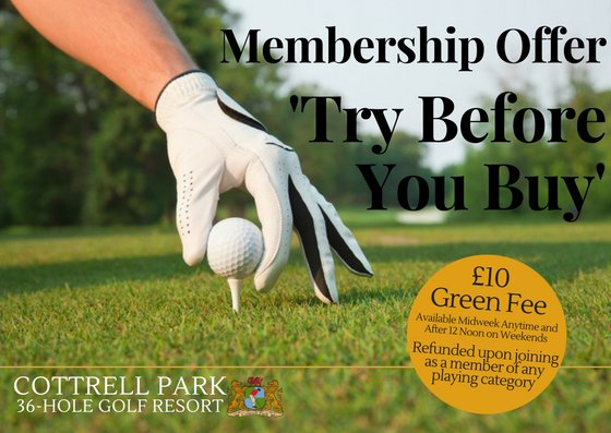test Twitter Media - MEMBERSHIP ⛳️🏌️‍♂️  Take advantage of our £10 Try Before You Buy offer!  If you join as a Member you will get £10 reduced from your Membership price.  Call today to book a Tee Time on 01446 781781 Option1   T's & C's Apply. https://t.co/XiQzanKrq9