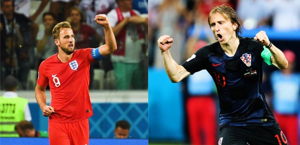 Image result for इंग्लैंड और क्रोएशिया