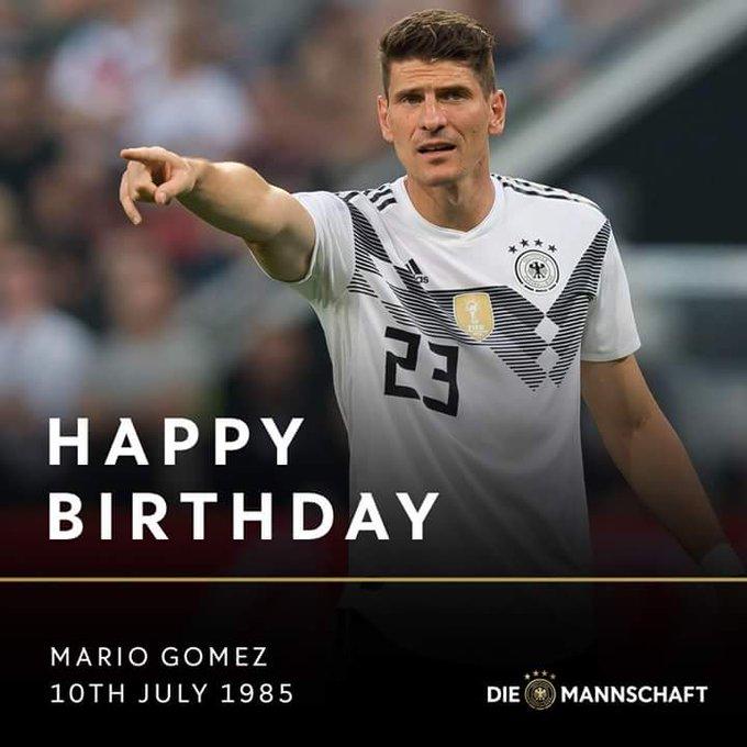 33 years young - Happy Birthday, Mario Gomez!