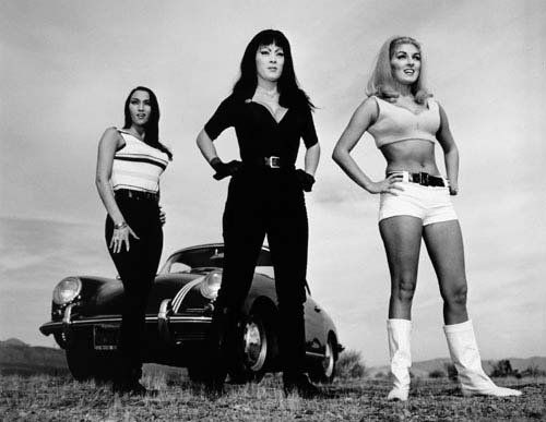 "Happy Birthday to the baddest Badass of them all, Tura Satana! File Under ""Faster Pussycat, Kill Kill!\"""