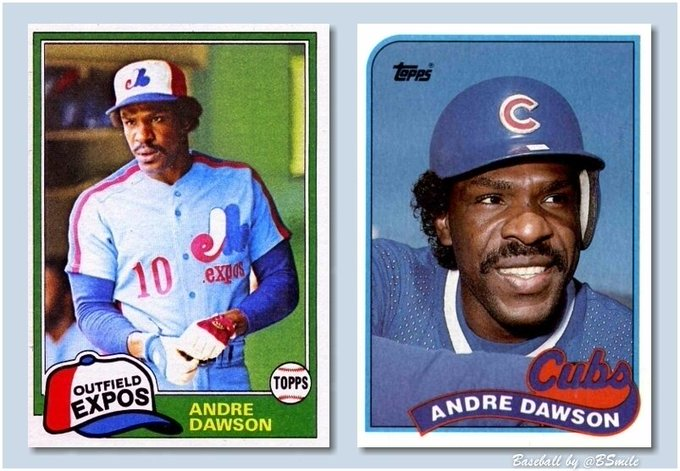 "Happy 64th Birthday Andre Dawson - Cheers to ""The Hawk\""!"