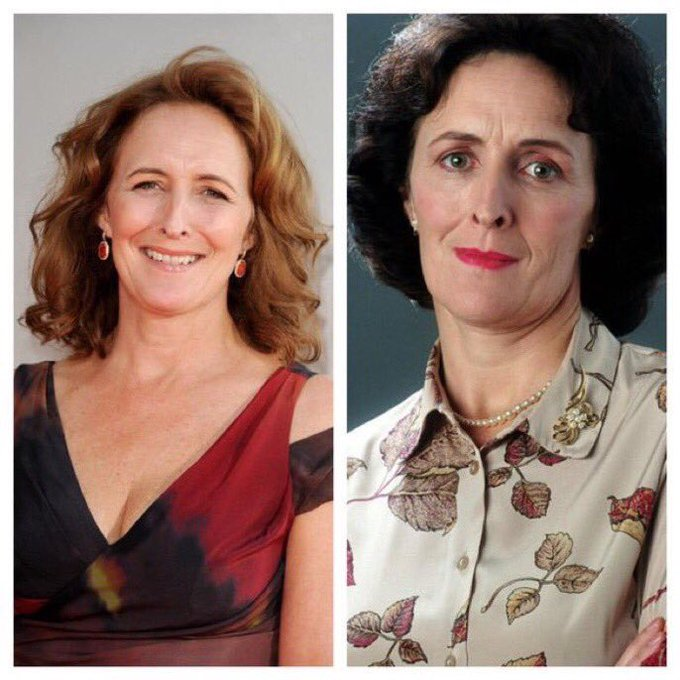 July 10: Happy Birthday, Fiona Shaw! She played Aunt Petunia Dursley in the Harry Potter films.