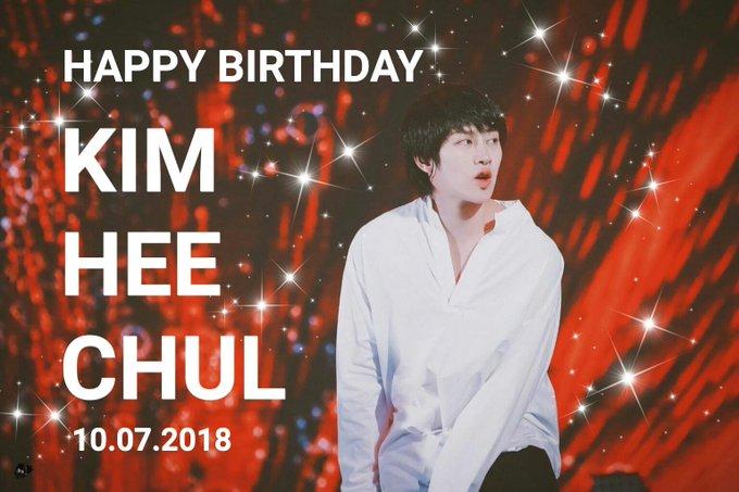 Happy Birthday to Kim Heechul