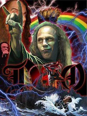 Happy Birthday Ronnie James Dio!! Rock the heavens!!