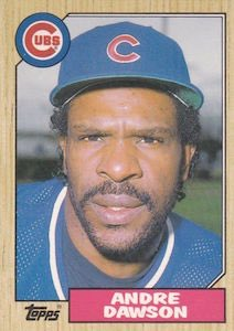 "Happy Birthday to the ""Hawk\"" Andre Dawson. One of my favorite Cubs as a kid."