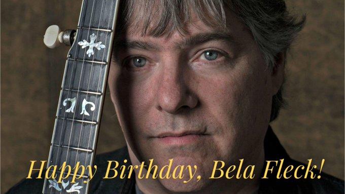 Happy 60th Birthday to banjo master, Bela Fleck!