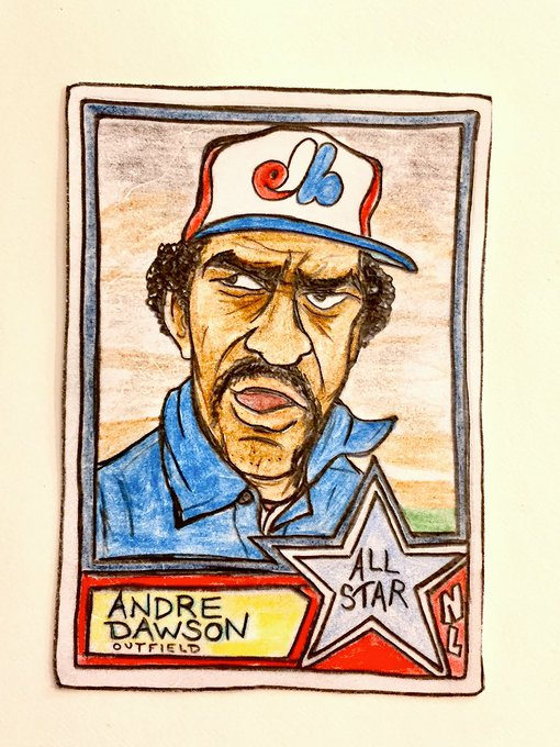 Wishing a very happy 64th birthday to Andre Dawson!