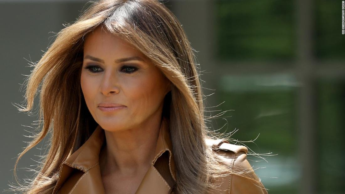 The first couple's European trip puts Melania Trump back on the world stage