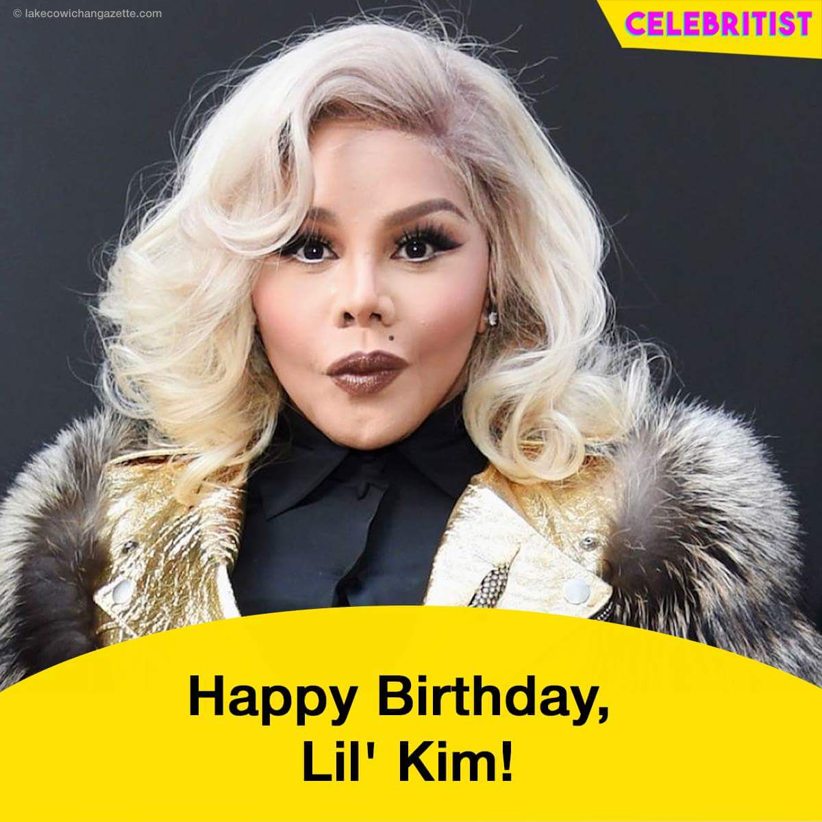 Happy Birthday to one of my favorite female rapper  Lil Kim.