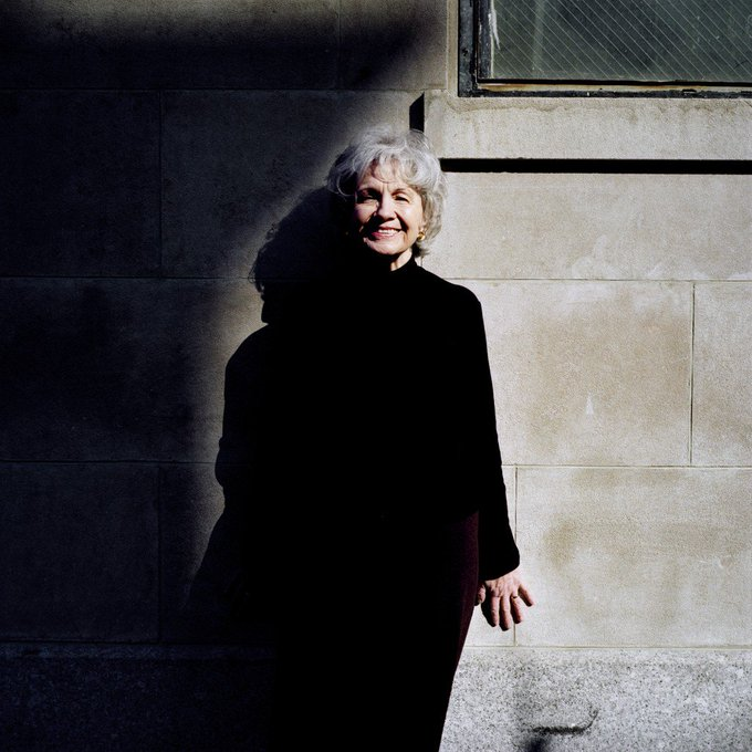 Happy birthday, Alice Munro! 87, today!