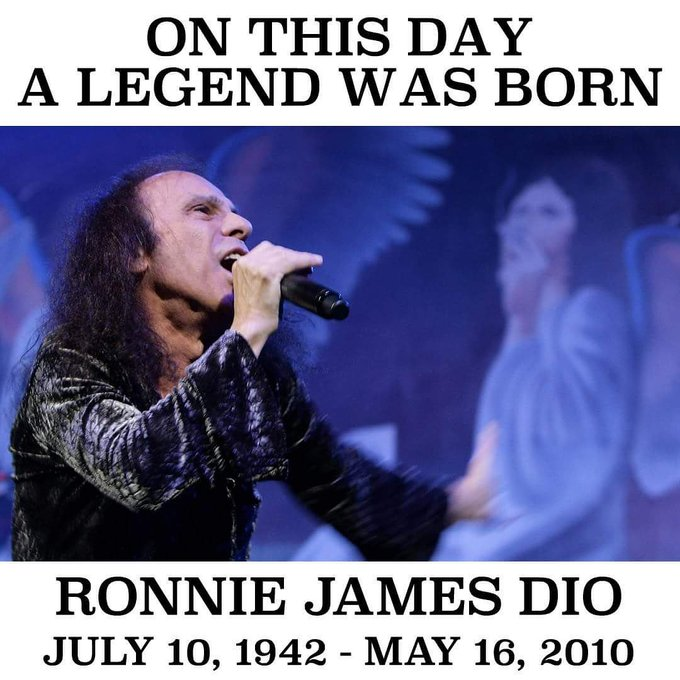 Happy Birthday Ronnie James Dio!!!