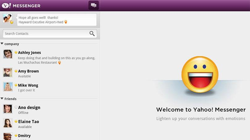 Yahoo Messenger will be discontinued next week: https://t.co/L21bBa2WFy https://t.co/i4sj1oMoMm