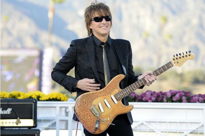 Happy Birthday to Bon Jovi guitarist Richie Sambora, born July 11th 1959