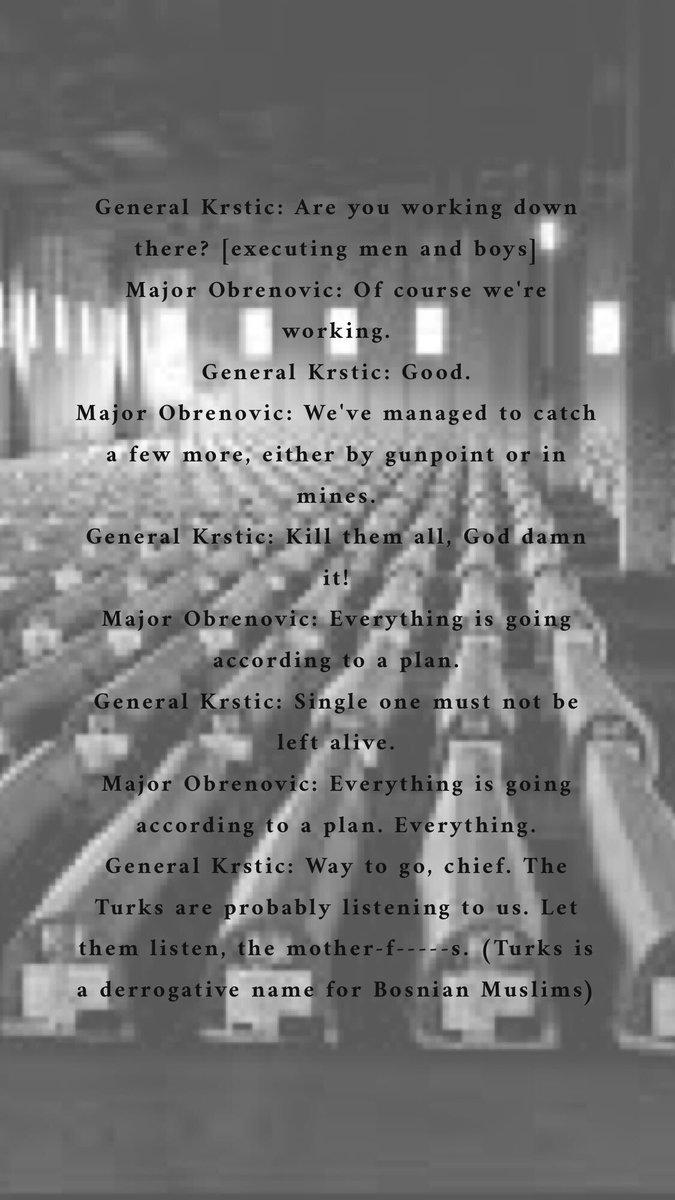 "test Twitter Media - RT @MerimaMulic: General Krstic: ""Single one must not be left alive!"" #srebrenica https://t.co/NESpFwK611"
