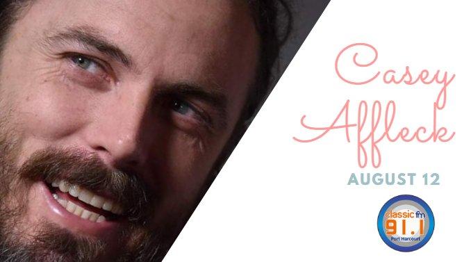 Happy birthday to actor, Casey Affleck