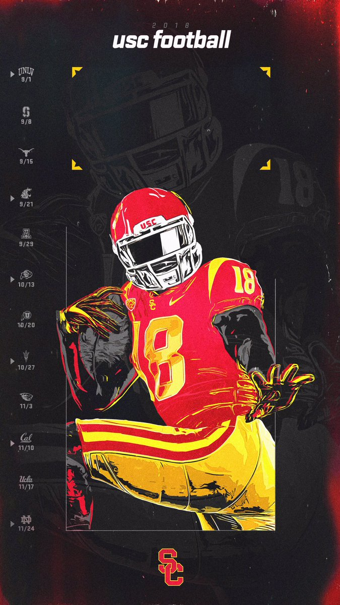 RT @EricZ_USC: The 2018 #USC Football season is almost here, so update your📱screen with this Trojan swag‼️ #FightOn https://t.co/yOVoIz83KD