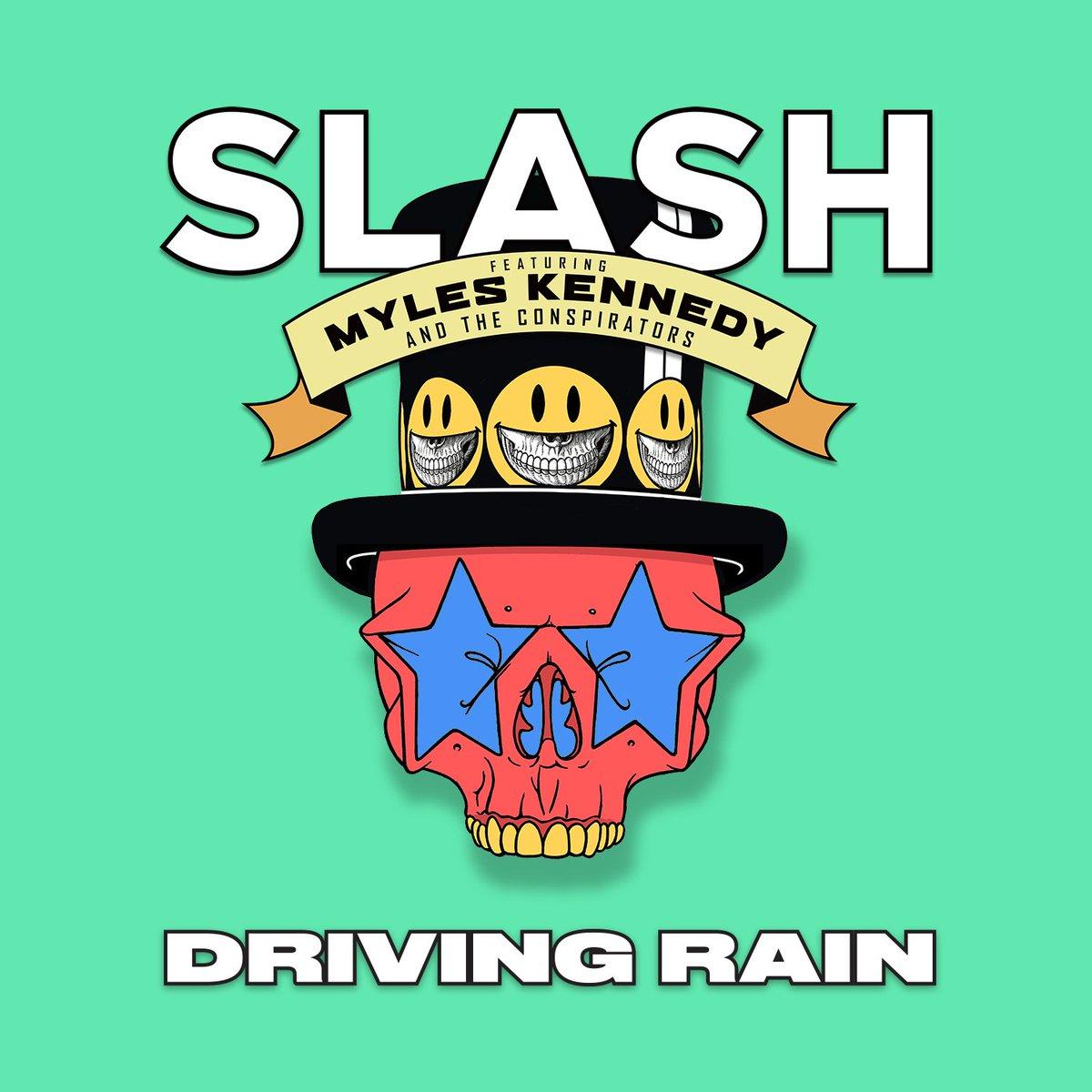 "Listen to the new single ""Driving Rain"" now! https://t.co/QmC43cRB8O #slashnews https://t.co/HOqM55iUe6"