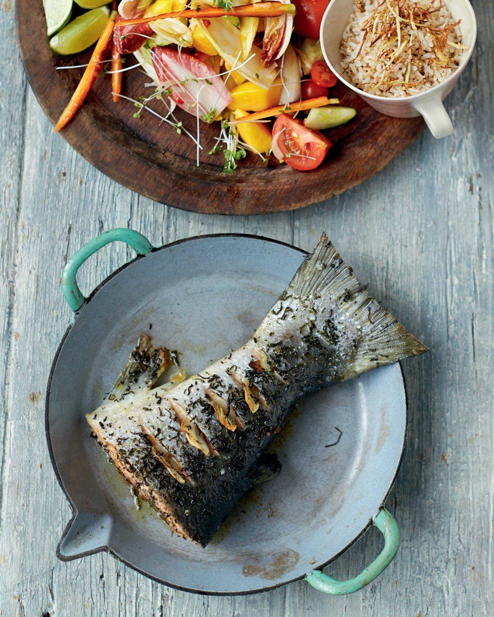 How to jazz up roasted salmon with a simple store cupboard ingredient... green tea. https://t.co/Z4s5xAPtbM